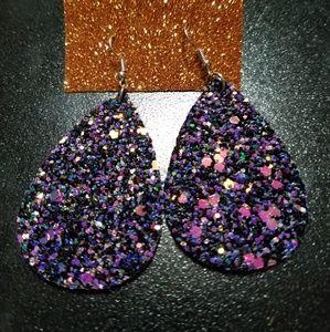 Jewelry - NWT! Rock-Glitter Earrings